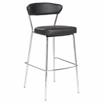 Euro Style Draco 30 in. Upholstered Bar Stool - Set of 2