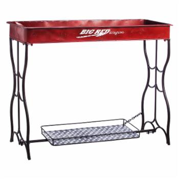 Evergreen Enterprises Red Wagon Potting Table