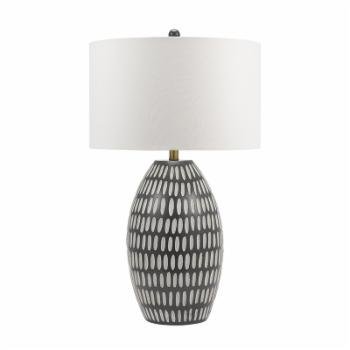 Cresswell Lighting Ximena 31 in. Eclectic Aztec Table Lamp