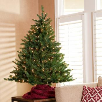 Classic Tabletop Pre-lit Christmas Tree -4.5 ft.