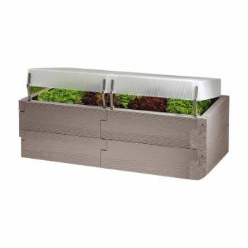 Exaco Trading Polycarbonate Double Layer Raised Bed