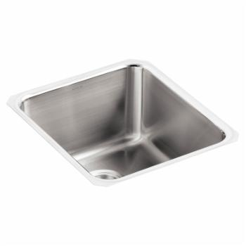 Kohler Undertone K333 Square Undermount Single Bowl Bar Sink