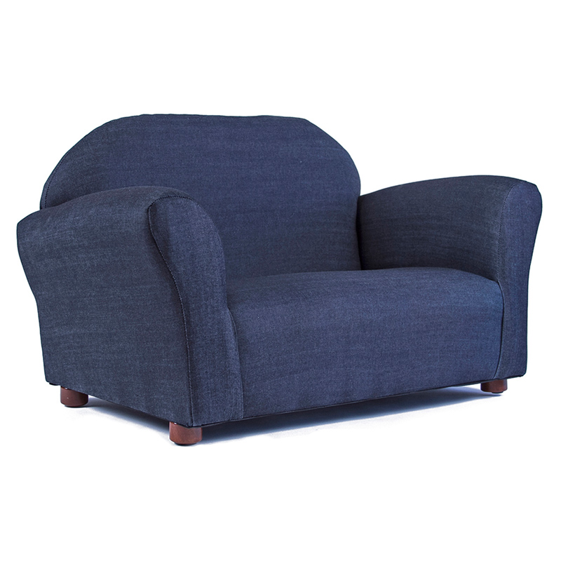 Keep Roundy Denim Kids Sofa