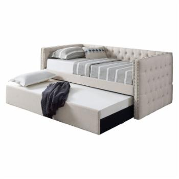 Best Master Furniture Trina Tufted Daybed with Trundle
