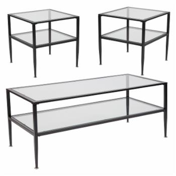 Flash Furniture Newport 3 Piece Coffee Table Set