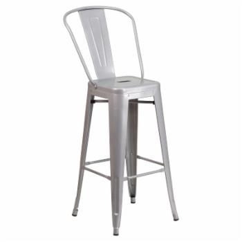 Flash Furniture Collins 30 in. Metal Bar Stool