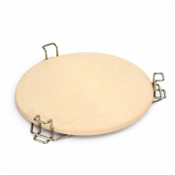Primo Heat Deflector Plate with Rack Kamado