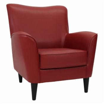 Fox Hill Rex Leatherette Lounge Chair