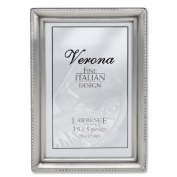 Lawrence Frames Antique Pewter 3.5 x 5 Picture Frame