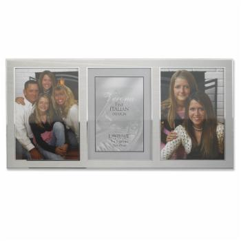Lawrence Frames Two Tone 5 x 7 Triple Picture Frame