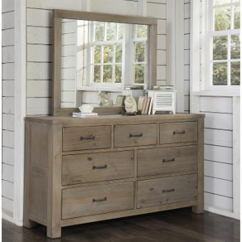 Highlands 7 Drawer Dresser