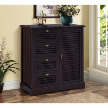 Gallerie Decor Chelsea 4 Drawer Cabinet