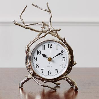 Global Views 4.75 in. Twig Clock