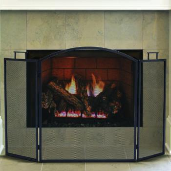 Pleasant Hearth Classic 3 Panel Fireplace Screen