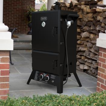 Dyna-Glo DGW1235BDP-D Wide Body Propane Gas Smoker