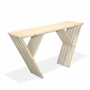 GloDea Xquare X60 Outdoor Wooden Buffet Table
