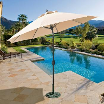 Galtech 9 ft. Sunbrella Aluminum Patio Umbrella