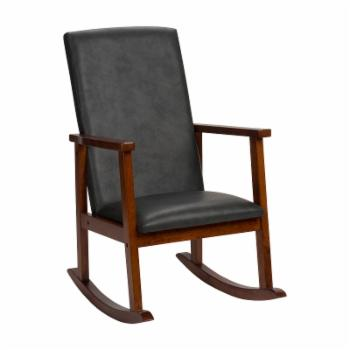 Gift Mark Deluxe Faux Leather Childrens Rocking Chair