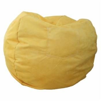 Fun Furnishings Canary Yellow Large Beanbag