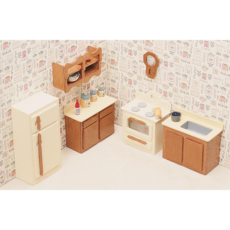 Greenleaf 6 Room Furniture Kit Set1 Inch Scale Hayneedle