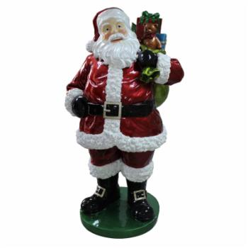 Northlight 63 in. Commercial Standing Santa Claus with Presents