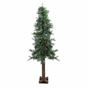 Northlight Traditional Woodland Alpine Christmas Tree