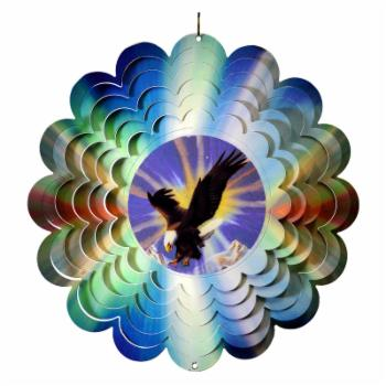 Great World Eagle Metal Painted Spinner