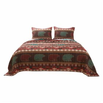 Canyon Creek Quilt Set by Greenland Home Fashions