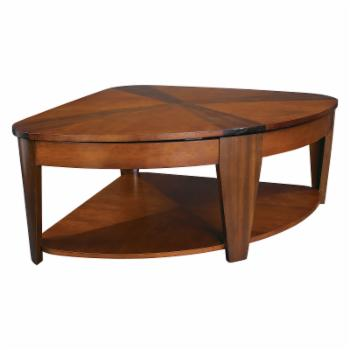 Hammary Oasis Wedge Lift-Top Coffee Table