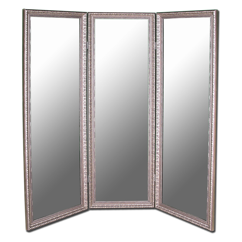 Ideal Hitchcock Butterfield Arrivabene 3 Panel Wall Mirror - 68.75W x  TF98