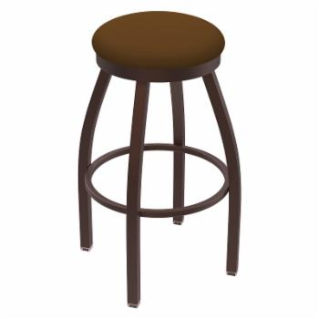 Holland Bar Stool Co Misha Backless 36 in. Extra Tall Swivel Bar Stool with Faux Leather Seat