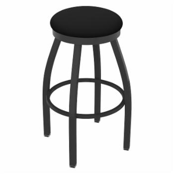 Holland Bar Stool Co Misha 36 in. Extra Tall Swivel Bar Stool with Faux Leather Seat