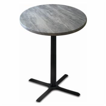 Holland Bar Stool Co Outdoor 36 in. Round Bar Height Indoor/Outdoor Patio Dining Table