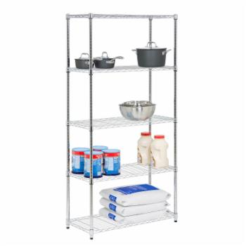 Honey Can Do 350 lbs Storage Shelves - 5 Tier