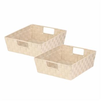 Honey Can Do Woven Trays - Set of 2