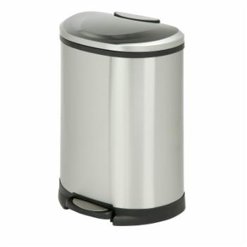 Honey Can Do 50L Step Trash Can