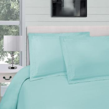 Infinity Embroidered Microfiber Duvet Cover Set by Superior