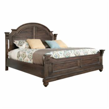 Hekman Homestead Louvered Bed