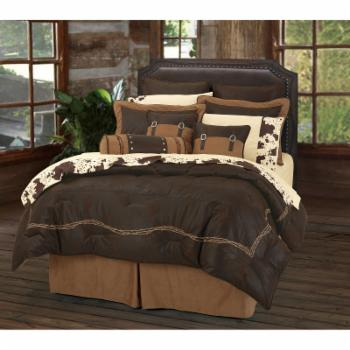 Embroidered Barbwire Comforter by HiEnd Accents