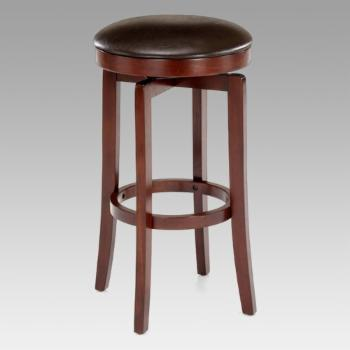 Hillsdale Malone 25 in. Backless Swivel Counter Stool