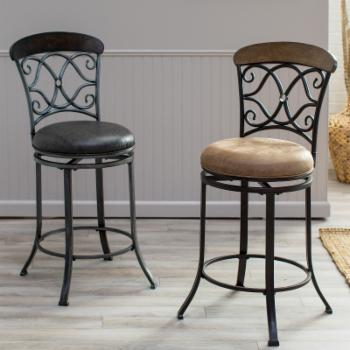 Finley Home Dylan 26.5 in. Counter Stool