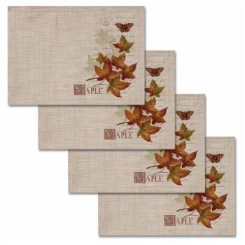 Heritage Lace Harvest Maple Placemat - Set of 4