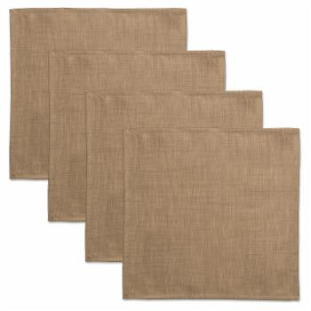 Heritage Lace Natural Wovens Napkin - Set of 4