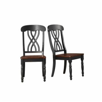 HumbleNest Homestead Cross Back Dining Side Chair - Set of 2