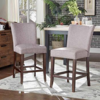 Chelsea Lane Counter Height Dining Side Chairs - Set of 2