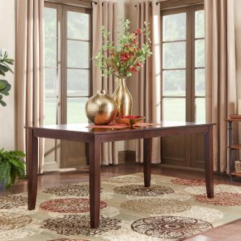 Weston Home Abram Parson Leg Extension Dining Table
