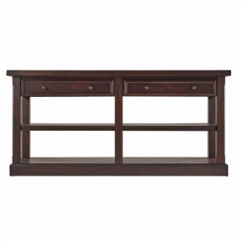 Weston Home Elias Wood Console Table
