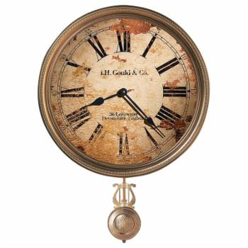 Howard Miller J.H. Gould and Co. III Wall Clock - 15 in. Wide