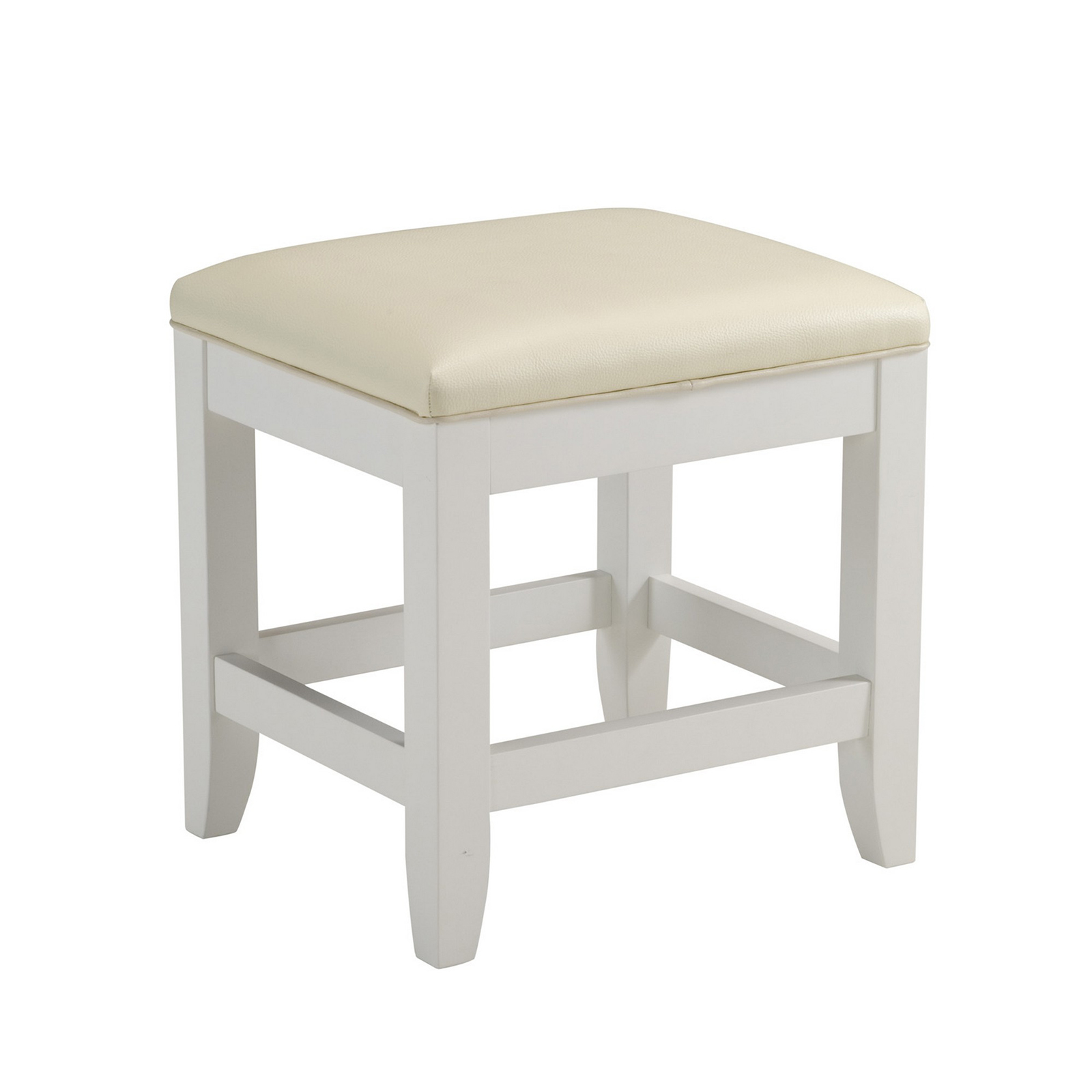 Home Styles Naples White Hall Tree with Storage Bench | Hayneedle