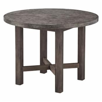 Home Styles Urban Concrete Chic Round Dining Table